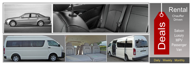 Airport Transfer, Cruise Transfer, Other Passenger Transfer Service
