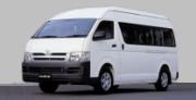 13-Seater Van Mini Bus Rental Driver