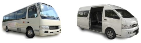 Minibus Bus Hourly Daily Hire with Driver